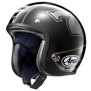 アライ(ARAI) AXYヘルメット CLASSIC MOD カフェレーサー BK 61-62 XL【smtb-s】