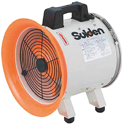 スイデン(Suiden) (株) スイデン SJF250RS1 3065 スイデン 送風機 (軸流ファンブロワ) ハネ250mm 単相100V 3537595【smtb-s】