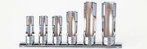 山下工業研究所 コーケン 3/8(9.5mm)フレアナットソケットレールセット 6ヶ組 RS3300FN/6【smtb-s】