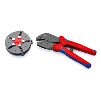 クニペックス KNIPEX KNIPEX(クニペックス)  9733-01 マルチクリンプ マガジン式圧着工具【smtb-s】