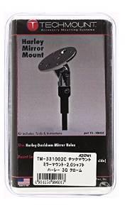 キジマ テックマウント ハーレーミラーマウント 3G 2.0シャフト クローム TM-331002C【smtb-s】