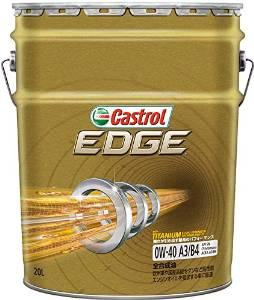 CASTROL(カストロール) Castrol カストロール EDGE0W40SNチタン 20L SN/A3B4 0W40【smtb-s】