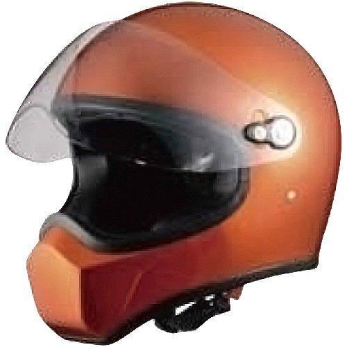 シレックス 【必ず購入前に仕様をご確認下さい】FUJIN フルフェイスヘルメット OR  L (ZS-730-OML)【smtb-s】