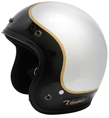 ダムトラックス(DAMMTRAX) ヘルメット JET-D COMMA SILVER MENS