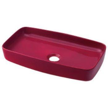 カクダイ 493-073-R 角型手洗器//ラズベリー【smtb-s】