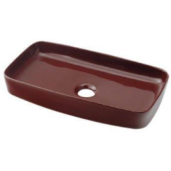 カクダイ 493-073-BR 角型手洗器//ショコラ【smtb-s】