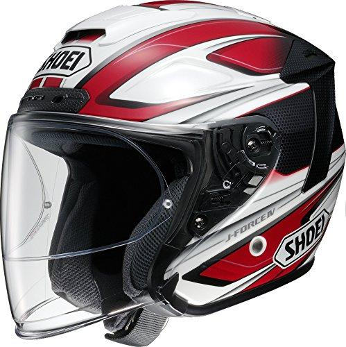 SHOEI 【必ず購入前に仕様をご確認下さい】J-FORCE4 BRILLER TC-1 RED/WHITE XL【smtb-s】