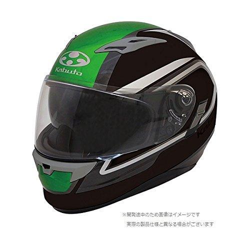 OGK 【必ず購入前に仕様をご確認下さい】KAMUI 2 CLEGANT フラットブラックグリーン XL【smtb-s】