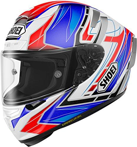 SHOEI 【必ず購入前に仕様をご確認下さい】X-Fourteen ASSAIL TC-2 BLUE/WHITE S【smtb-s】