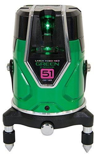 シンワ測定 レーザーロボグリーン Neo E Sensor 51縦・横・大矩・通り芯x2・地墨71605【smtb-s】