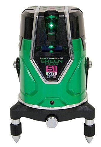 シンワ測定 レーザーロボグリーン Neo E Sensor 51ARフルライン・地墨71606【smtb-s】