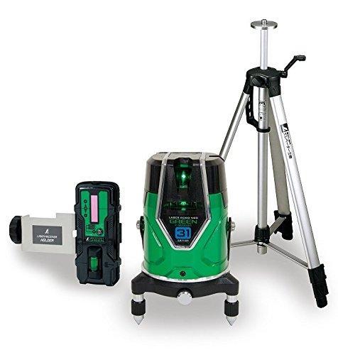 シンワ測定 レーザーロボグリーン Neo E Sensor 31受光器・三脚セット71613【smtb-s】