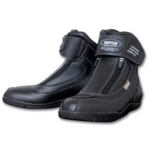 シンプソン(SIMPSON) ショートブーツ (SPB-061) カラー:BK サイズ:25【smtb-s】