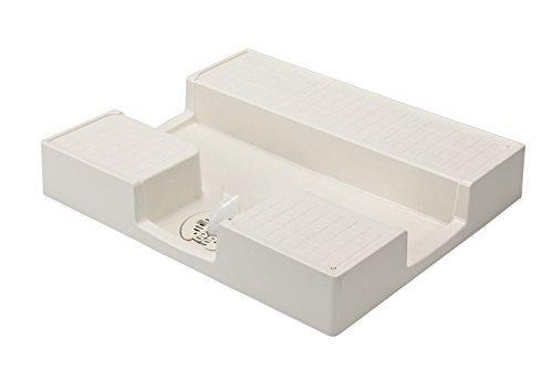 テクノテック 防水パン TPD750 サイズ(mm):750×640×120 アイボリーホワイト 穴位置:C【smtb-s】