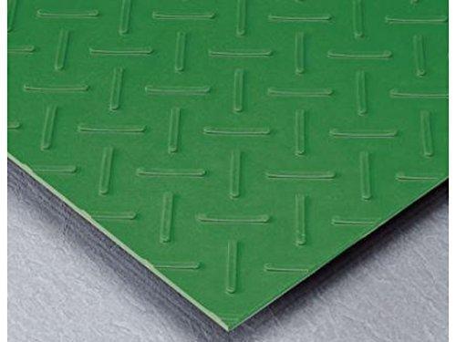 テラモト MR1511051 エスゴムマット 5mm厚 緑 1m×10m【smtb-s】