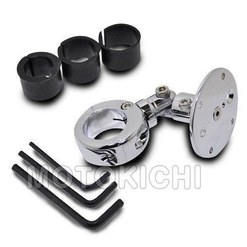 キジマ テックマウント 22-32mmバークランプ 3G 1.75シャフト クローム TM-330912C2