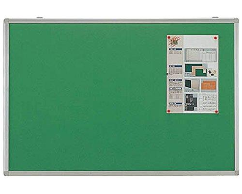 トラスコ中山(TRUSCO) エコロジークロス掲示板 ピン専用 600X900 グリーン【smtb-s】