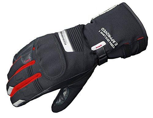 コミネ(Komine) GK-814 GTX CE Tourer W-Gloves-ATERUI 色:Black/Red サイズ:XL (06-814)【smtb-s】