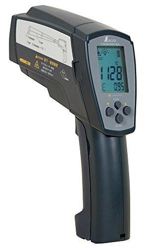 シンワ測定 品番:73100 放射温度計H高温測定用デュアルレーザーポイント機能付放射率可変タイプ【smtb-s】