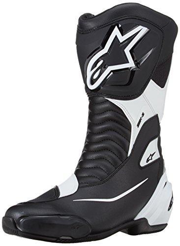 アルパインスターズ バイクブーツ ブラック/ホワイト (EUR 41/26.0cm) SMX-Sブーツ ※必ず購入前に仕様をご確認下さい【smtb-s】