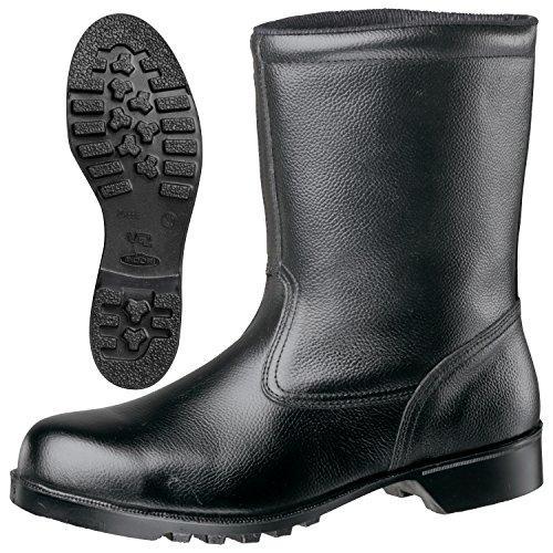 ミドリ安全 ゴム底安全靴 半長靴 V2400N 24.5CM code:8217958【smtb-s】