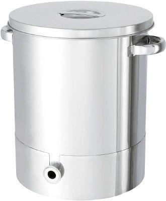 日東金属工業 日東 ステンレスタンク片テーパー型汎用容器 65L code:7516088【smtb-s】