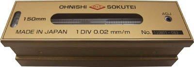 大西測定 OSS 平形精密水準器(一般工作用)250mm code:7605307