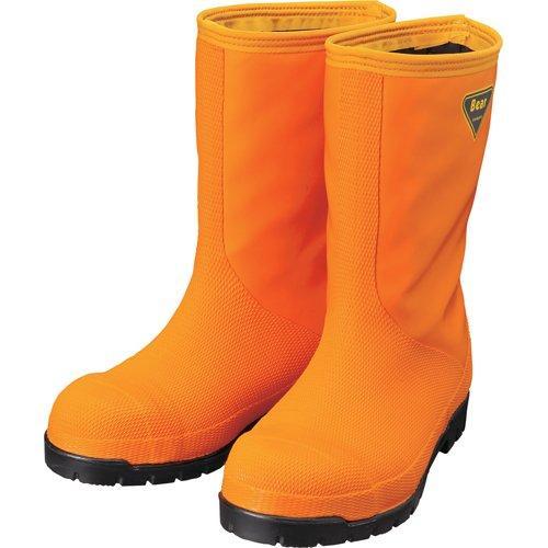 シバタ工業 SHIBATA 冷蔵庫用長靴-40°C NR031 27.0 オレンジ code:8190396【smtb-s】