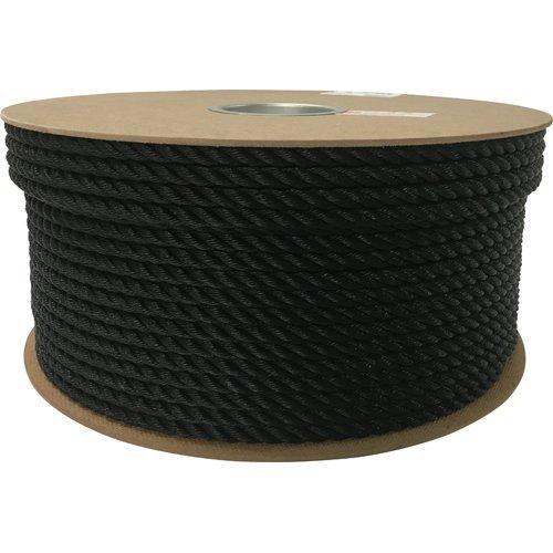 ユタカメイク ユタカ ポリエチレンロープドラム巻 9mm×150m ブラック code:7947615【smtb-s】