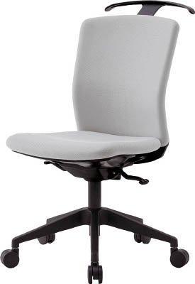 アイリスチトセ ハンガー付回転椅子(シンクロロッキング) グレー code:7594291【smtb-s】