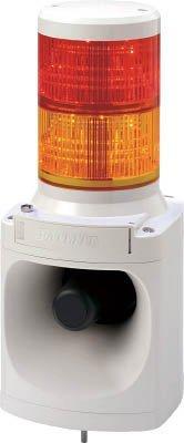 パトライト LED信号灯付き電子音報知器 code:7514654【smtb-s】