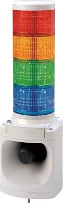 パトライト LED積層信号灯付き電子音報知器 code:7514735【smtb-s】