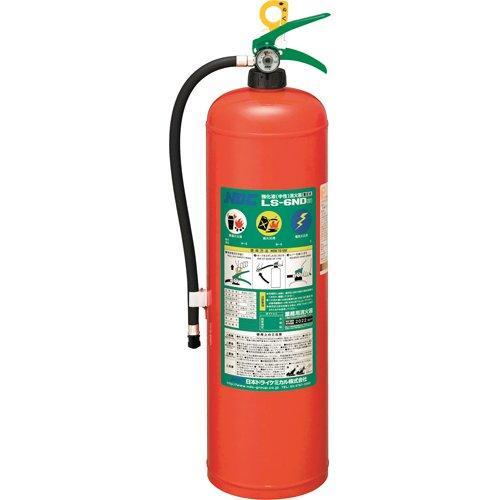 日本ドライケミカル ドライケミカル 中性強化液消火器6型 蓄圧式 code:8186886【smtb-s】