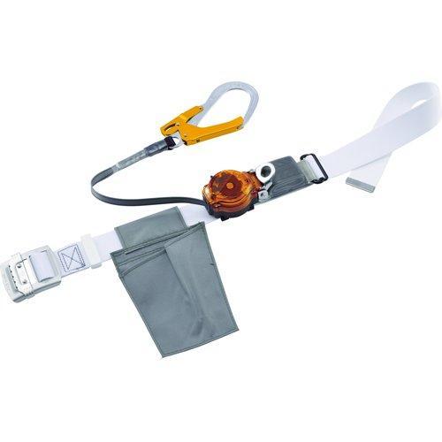 藤井電工 ツヨロン なでしこ2WAYリトラ安全帯 白色 S寸 軽量型 オレンジ code:7960026【smtb-s】