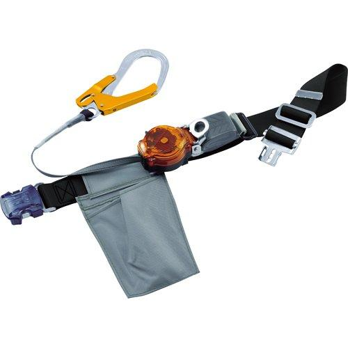藤井電工 ツヨロン なでしこ2WAYリトラ安全帯(OTバックル)黒色S寸軽量型オレンジ code:7960034