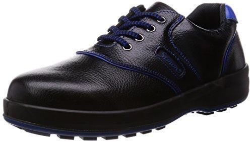 シモン 安全靴 短靴 SL11-BL黒/ブルー 28.0cm code:4007361【smtb-s】