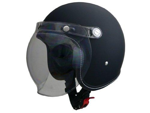 LEAD MURREY MR-70 ジェットヘルメット / マットブラック /L ( 59-60cm未満 )【smtb-s】