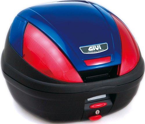 GIVI E370 モノロックケース ブルー 39L -68046【smtb-s】