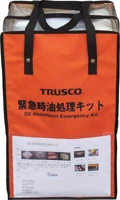 トラスコ中山 TRUSCO 緊急時油処理キット M code:7647786【smtb-s】