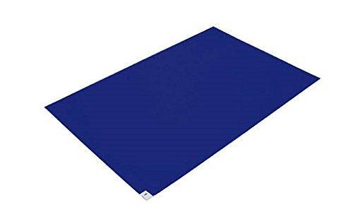 トラスコ中山 TRUSCO 粘着クリーンマット 600X1200MM ブルー 10シート入 code:7679262【smtb-s】