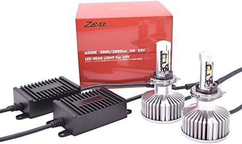 ZRAY ゼットレイ RH24 ヘッドライト専用LEDバルブキット H4 24V 6500K NLRH24【smtb-s】