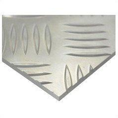 ハイロジック アルミ縞板(52S) 400mm×600mm 厚さ3mm アルミシマ(52S)【smtb-s】