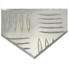 ハイロジック アルミ縞板(52S) 400mm×600mm 厚さ4.5mm アルミシマ(52S)【smtb-s】