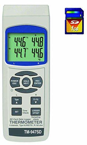 マザーツール データロガー温度計 TM-947SD1個1-1450-01【smtb-s】