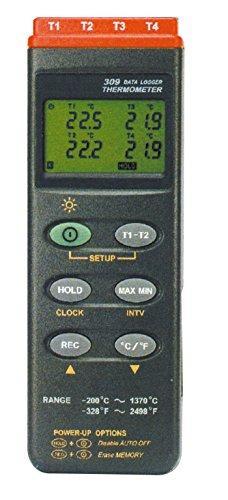 マザーツール デジタル温湿度計(データロガ内蔵型)MT-3091台2-1960-01【smtb-s】