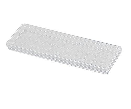アズワン 角型透明ディッシュ 235×85mm 10枚×10袋入1箱(10枚×10袋入り)2-5316-01【smtb-s】