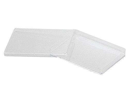 アズワン 角型透明ディッシュ 144×104mm 10枚×10袋入1箱(10枚×10袋入り)2-5316-02【smtb-s】