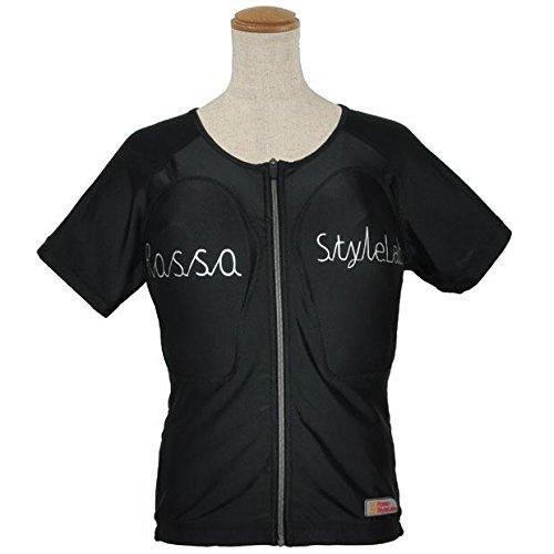 ロッソスタイルラボ(Rosso StyleLab) ROPRO-09 レディースプロテクションTシャツ BK M (ROPRO-09/BK/M)【smtb-s】
