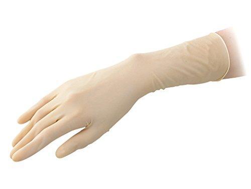 アズワン アズピュアラテックス手袋厚手 ピュアパック 指先エンボスハイグリップ(クリーンルーム向け) XS 1000枚NCAP0477901-3911-54【smtb-s】