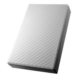 アイ・オー・データ機器 USB3.0/2.0ポータブルHDD高速カクうすセラミックホワイト2TB(HDPT-UT2DW)【smtb-s】